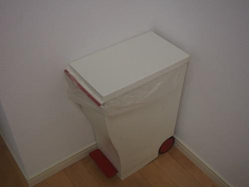 ゴミ箱を空にして、ゴミ箱の中をあらってみよう。