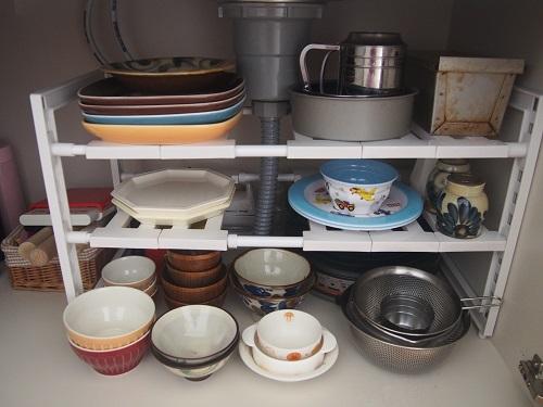 食器棚は持たない、多くの食器もいらない。
