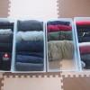 衣替えの時期に洋服を見直すと、収納スペースをスッキリすることができる。