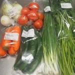 産直で新鮮な野菜を買い、簡単な作り置きをはじめてみました。