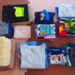 毎日の洗濯、私は吊るす派ではなく畳む派です。