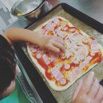 夏休みは、親子で手作りピザを作りませんか?