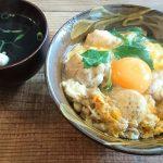 沖縄で京都の親子丼が味わえる!サンスーシーの和カフェセットを食べてきました。