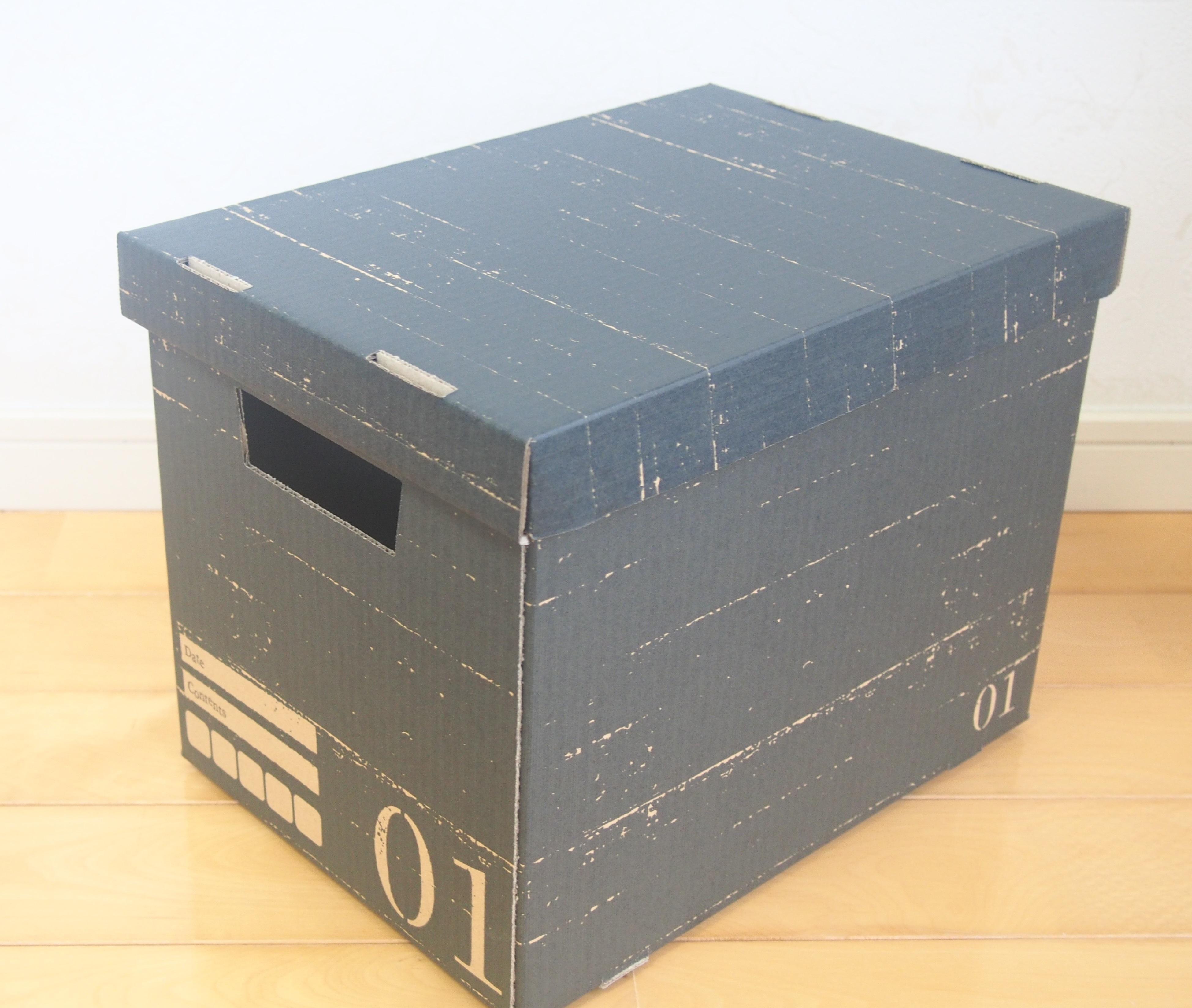ボックス 布 収納 セリア